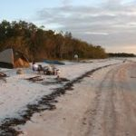 Campers on Anclote Key